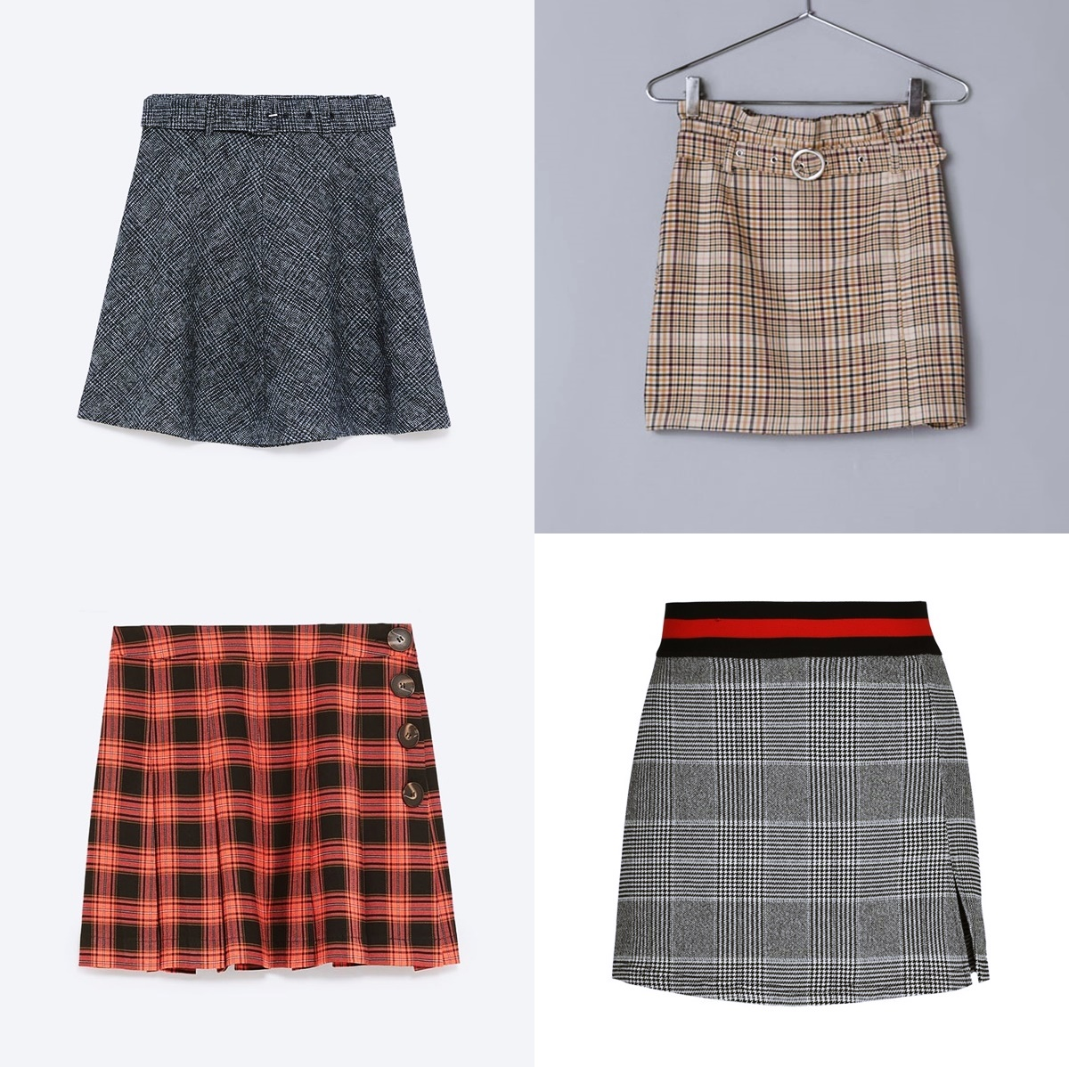 Plaid Mini Skirts: Trends and Outfits