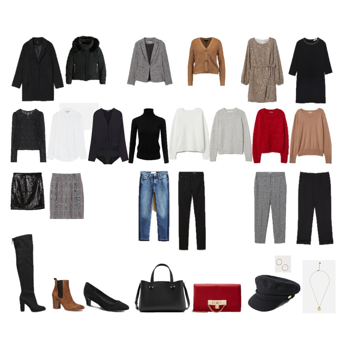 Winter Capsule Wardrobe 2019