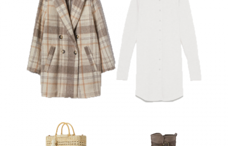 Outfit des Tages: ein weißes Hemdkleid