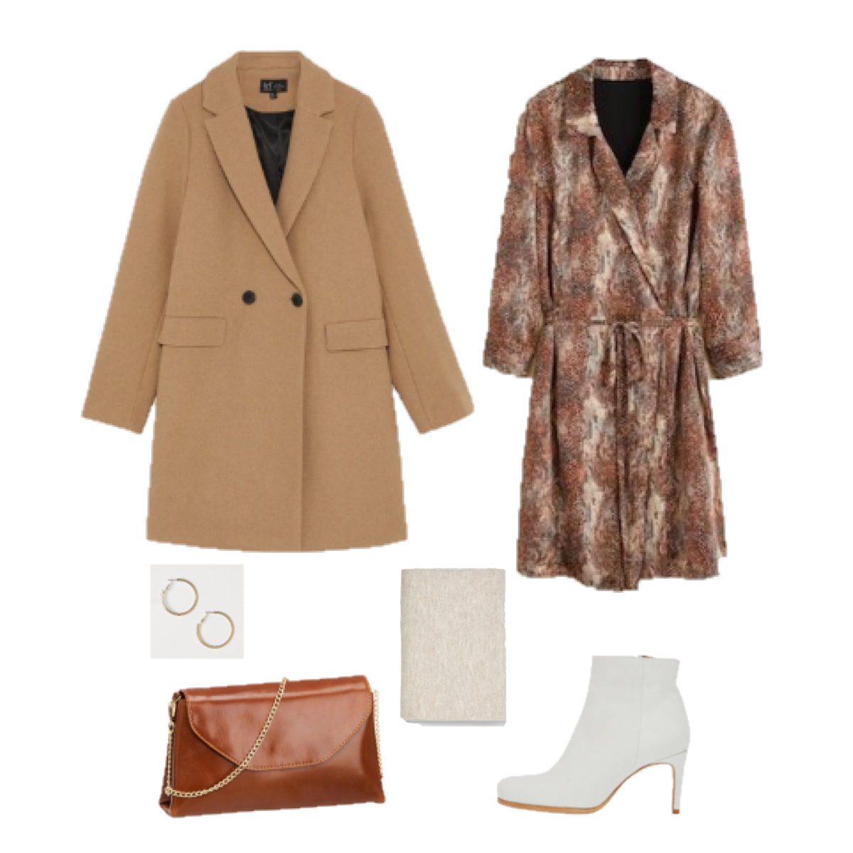 Outfit of the Day: Animal Print in Brown Tones