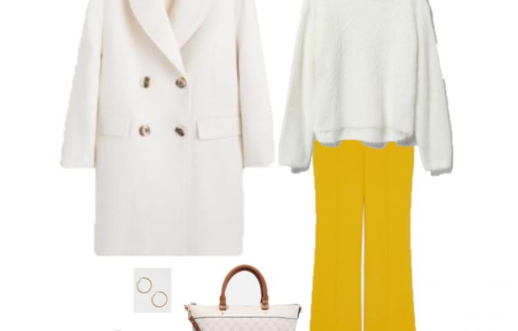 Outfit of the Day: Yellow Flare Pants