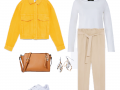 Outfit of the Day: A yellow jacket