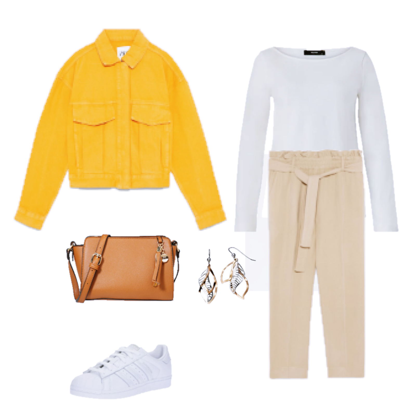 Outfit of the Day: A mustard jacket
