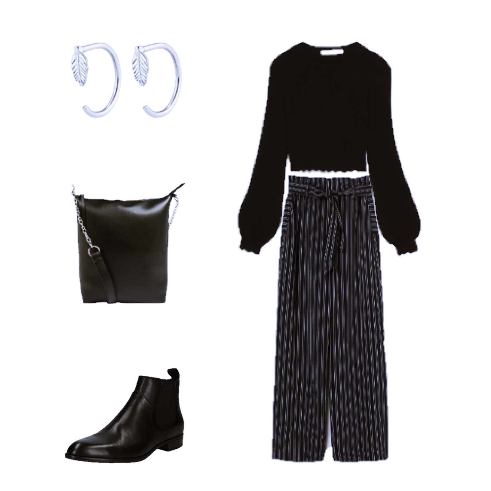 Outfit of the Day: A pair of Striped Pants
