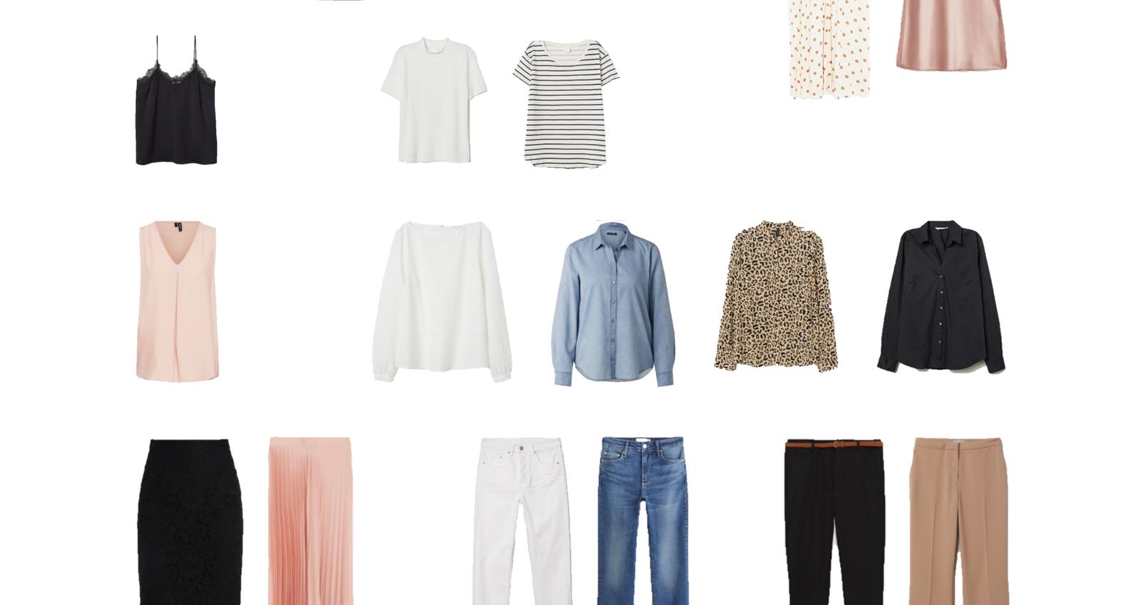 Frühlings Capsule Wardrobe