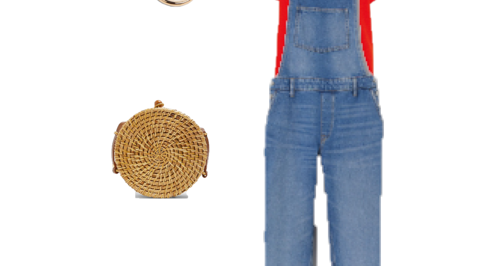 Outfit of the Day: A Denim Overall