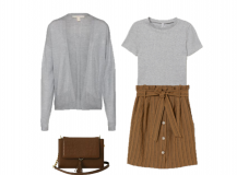 Outfit of the Day: A button-down skirt