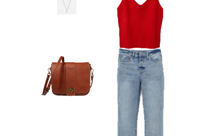 Outfit of the day: A ribbed top