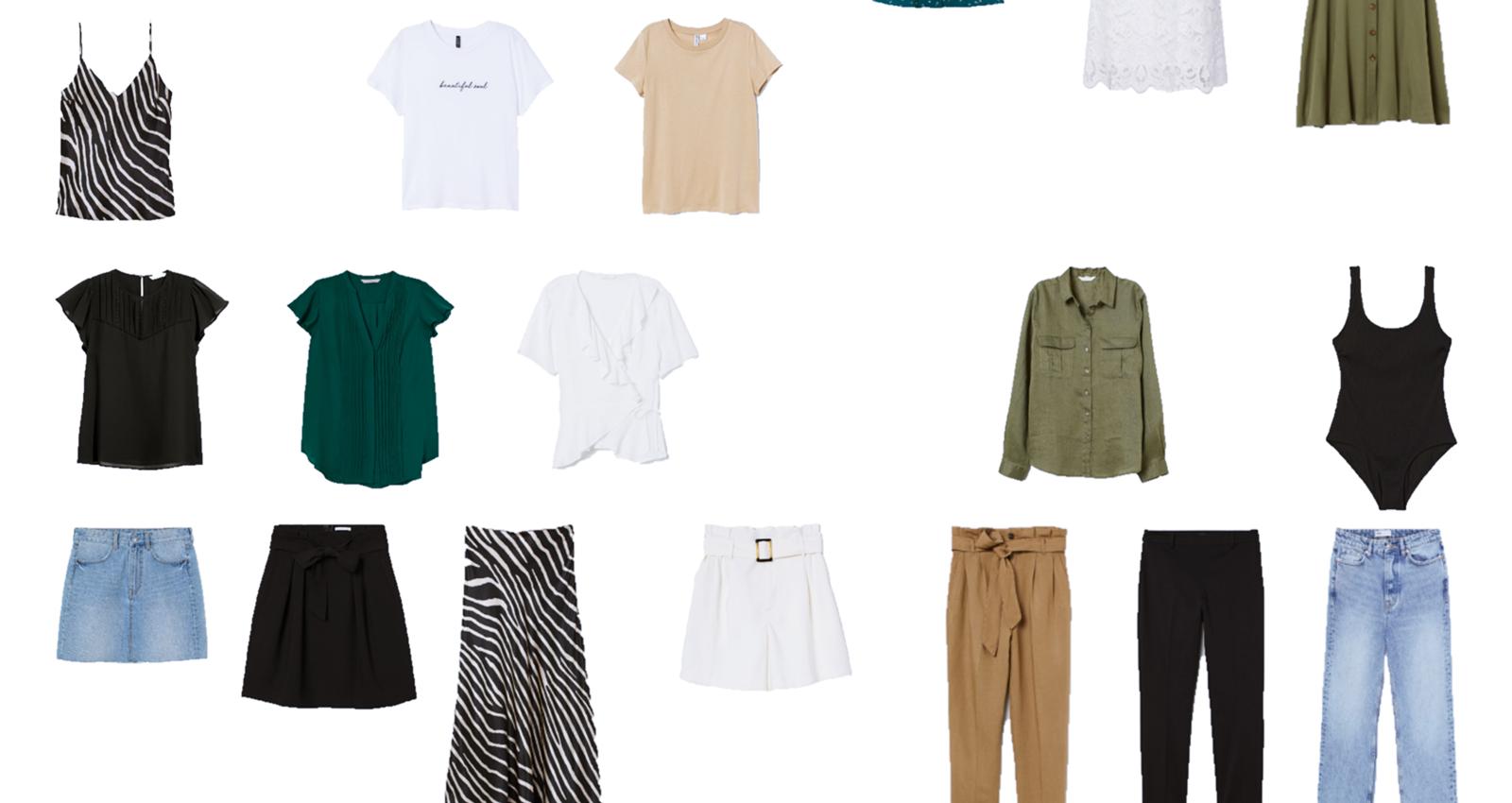 Summer Capsule Wardrobe 2019