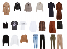 Autumn Capsule Wardrobe 2019