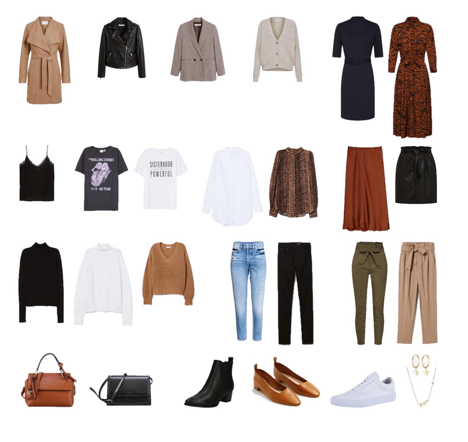 Autumn Capsule Wardrobe 2019