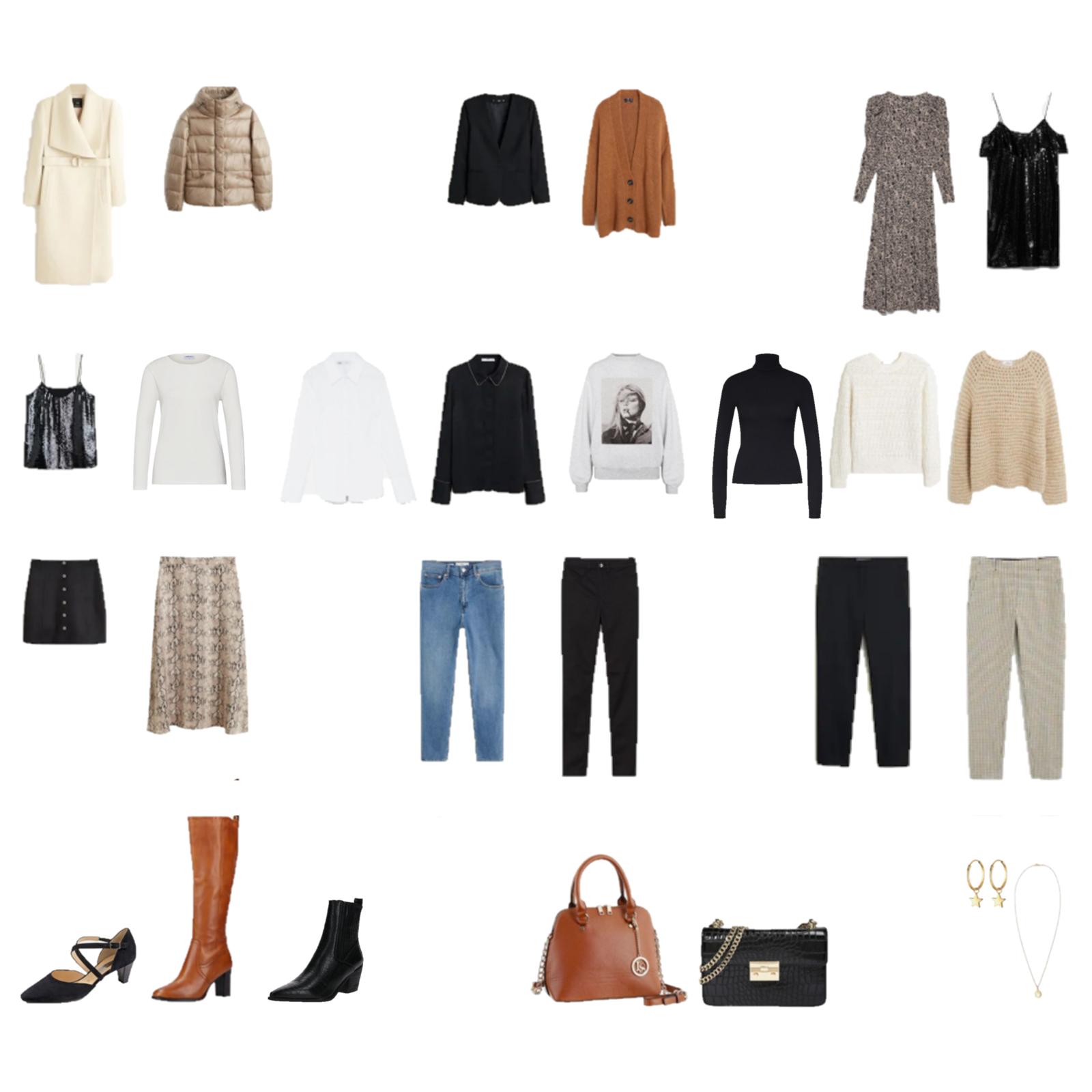 Winter Capsule Wardrobe 2020