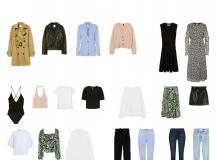 Frühlings Capsule Wardrobe 2020