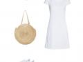 Outfit des Tages: Weiß ist für den Sommer