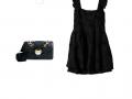 Look des Tages: ein kleines schwarzes Kleid