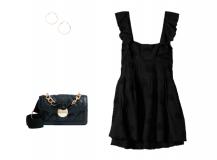 Look del día: un vestido negro corto