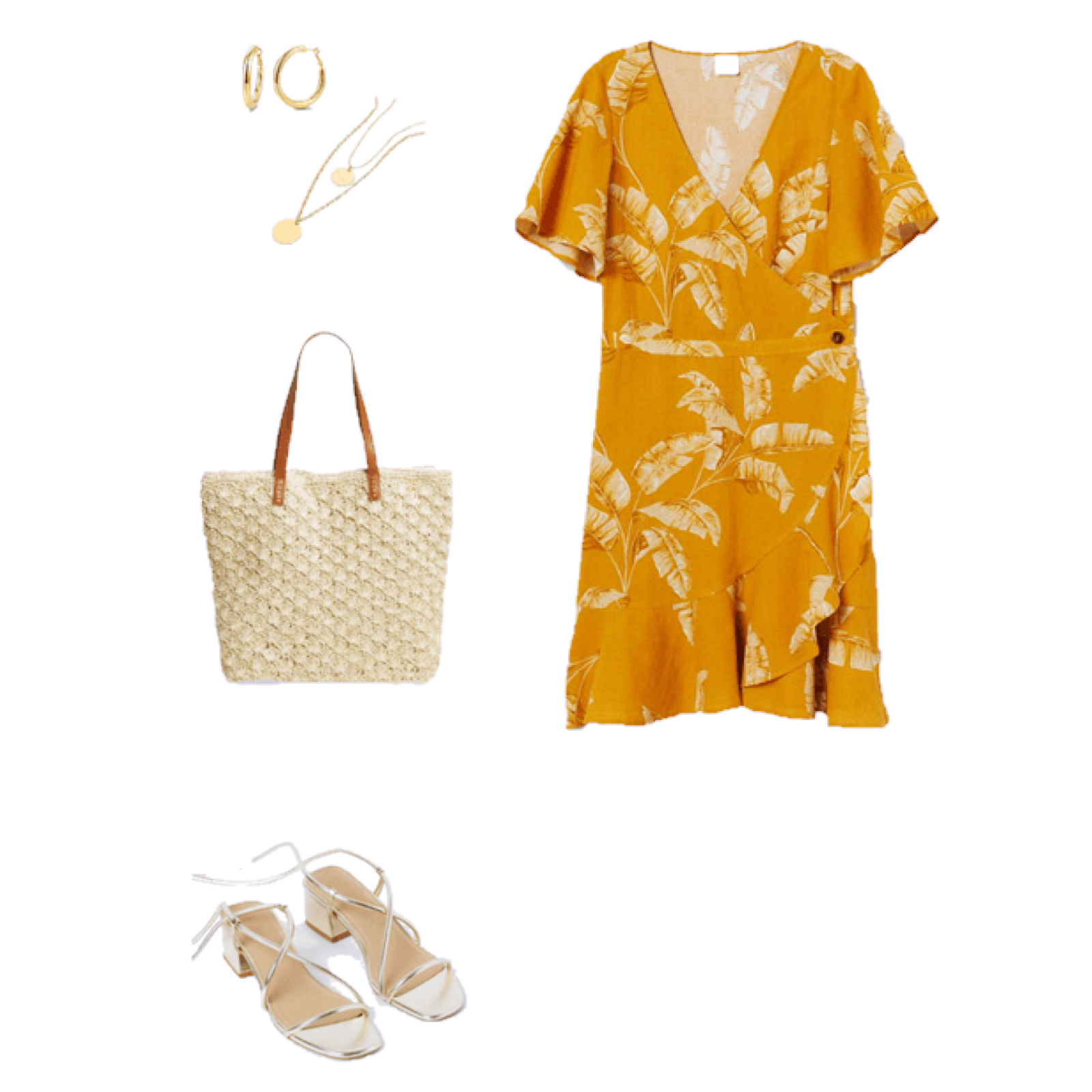 Outfit of the Day: Yellow and Gold