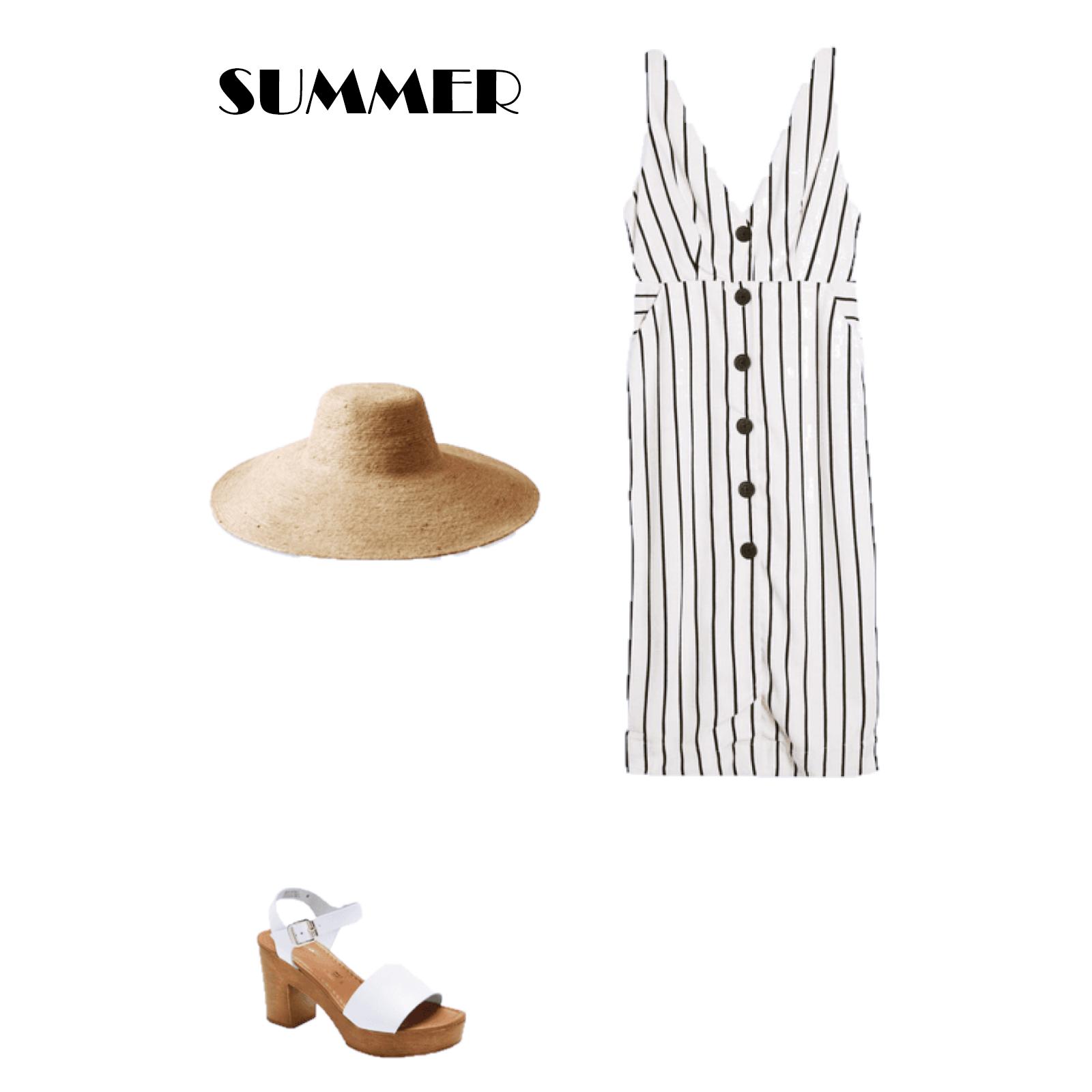 Look del día: un vestido con raya diplomática para este verano