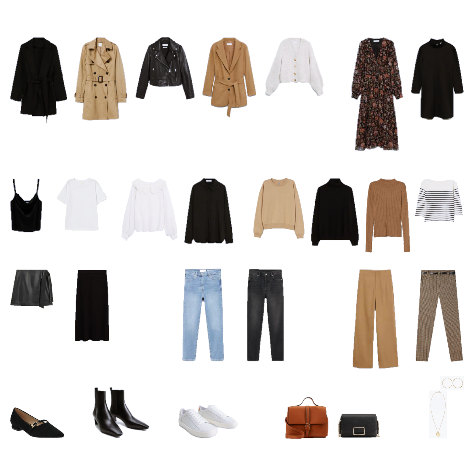 Autumn Capsule Wardrobe 2020