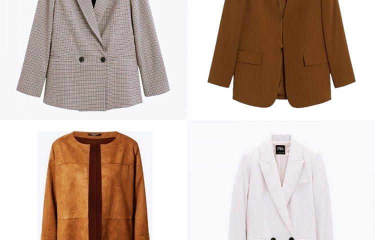 4 Herbst-Outfits mit Blazern