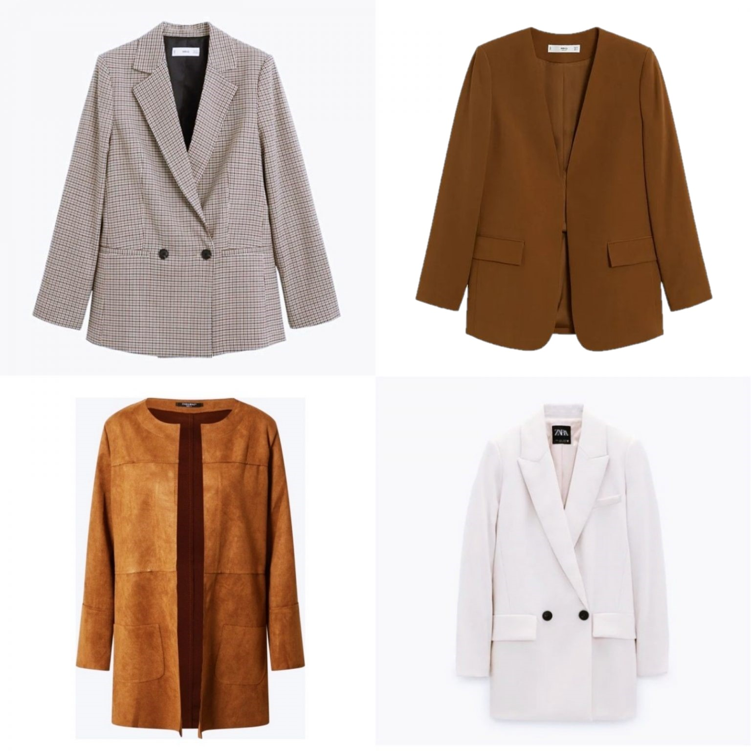 4 Fall Outfits with Blazers