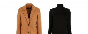 Outfit of the Day: a basic look with a camel coat