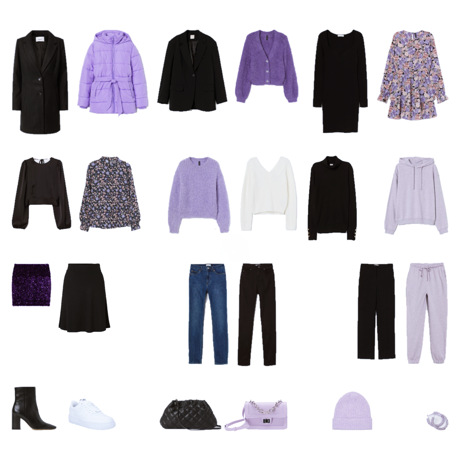 Advent Capsule Wardrobe 2020