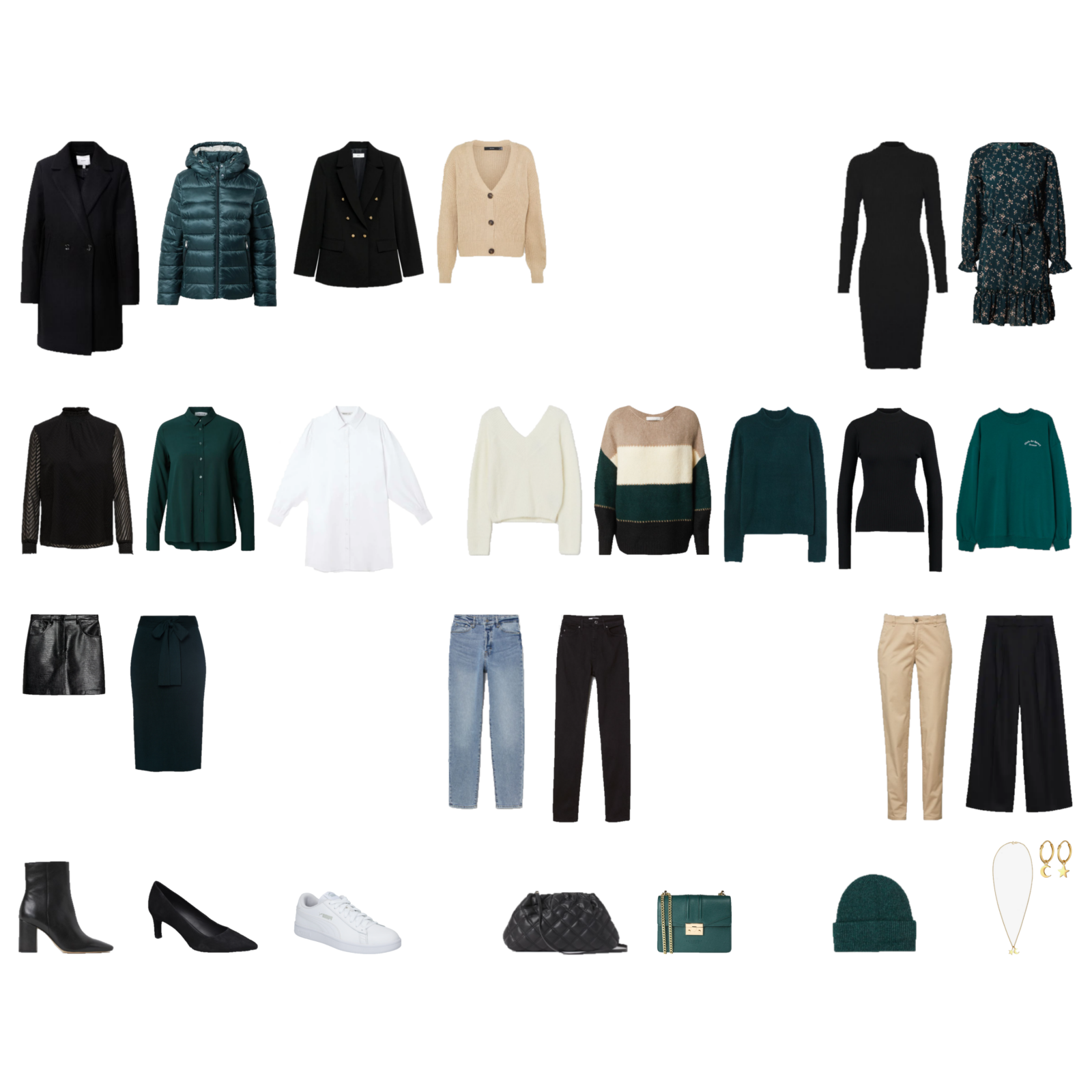 Winter Capsule Wardrobe 2021