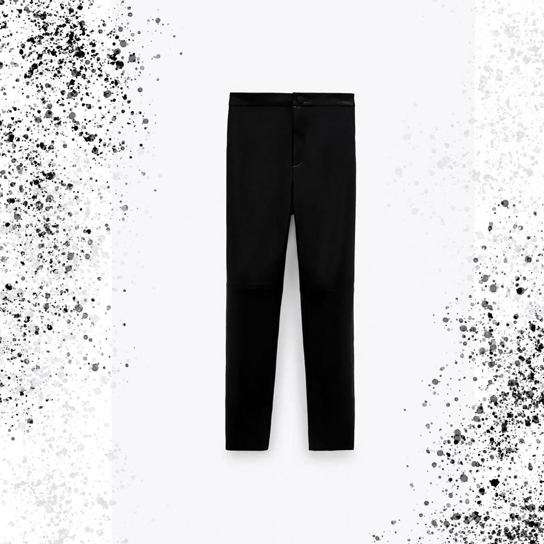 4 Looks de invierno con leggins con efecto cuero