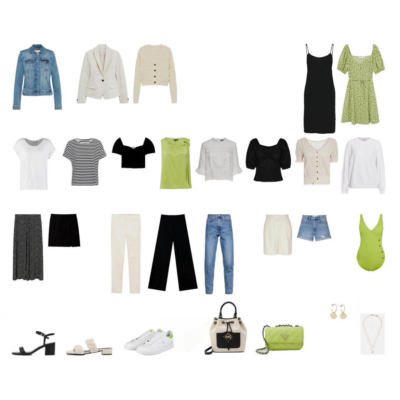 Sommer Capsule Wardrobe 2021